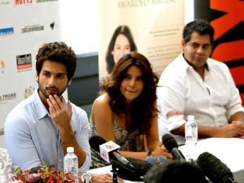 Shahid Kapoor, Priyanka Chopra, Vicky Bahri