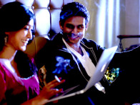 Movie Still From The Film Second Marriage Dot Com,Sayani Gupta,Vishal Nayak