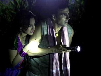 Movie Still From The Film Joker,Sonakshi Sinha,Akshay Kumar
