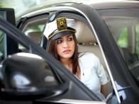 Movie Still From The Film Challo Driver,Kainaz Motivala