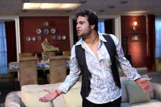 Movie Still From The Film Mera Naam Chin Chin Choo,Krishna Abhishek