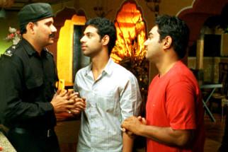 Movie Still From The Film Shuttlecock Boys,Manish Nawani,Aakar Kaushik