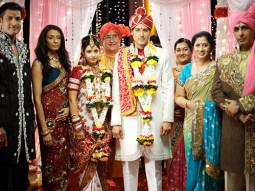 Movie Still From The Film Riwayat,Salil Ankola,Achint Kaur,Samapika Debnath,Khalid Siddiqui,Mangal Kenkre,Saurabh Dubey