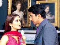 Movie Still From The Film Pyaar Ishq Aur Mohabbat Featuring Isha Koppikar,Aftab Shivdasani