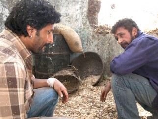 Movie Still From The Film Ishqiya,Naseruddin Shah,Arshad Warsi