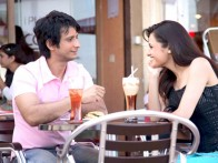 Movie Still From The Film Toh Baat Pakki,Sharman Joshi,Uvika Chaudhary