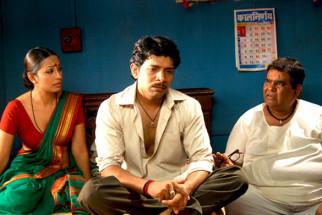 Movie Still From The Film City of Gold,Satish Kaushik