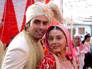 Movie Still From The Film Well Done Abba,Sameer Dattani,Minissha Lamba