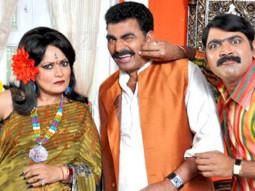 Movie Still From The Film My Friend Ganesha 3,Sayaji Shinde, Himani Shivpuri, Makarand Anaspure