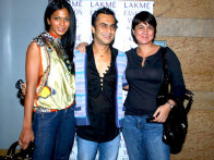 Photo Of Nina Manuel,Akki Narula From The Celeb judges and models at LFW model auditions 2010