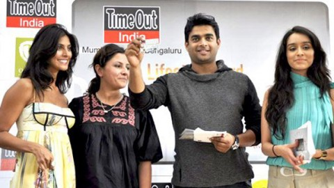 Photo Of Leena Yadav,R Madhavan,Sharadha Kapoor From Madhavan and Teen Patti cast unveils Timeout Lifestyle card