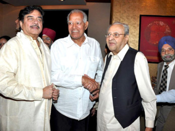 Photo Of Shatrughan Sinha,Dara Singh Randhawa,Pran From The Pran's 90th birthday bash