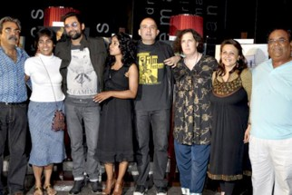 Photo Of Abhay Deol,Tannishtha Chatterjee,Dev Benegal,Satish Kaushik From The 'Road, Movie's photo exhibition