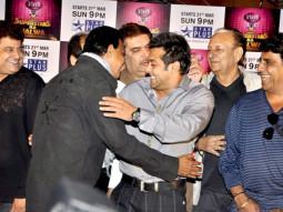 Photo Of Gajendra Chauhan,Mithun Chakraborty,Raza Murad,Arun Bali,Deep Dhillon From Salman Khan and Mithun bond at CINTAA Superstars Ka Jalwa launch