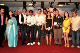Photo Of Hiten Paintal,Jiten Mukhi,Khayali,Gashmeer Mahajani,Om Katare From The Audio Release of Muskurake Dekh Zara
