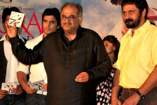 Photo Of Gashmeer Mahajani,Boney Kapoor From The Audio Release of Muskurake Dekh Zara