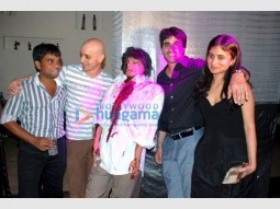 Photo Of Howard Rosemeyer,Gautam Rode,Rasika Duggal From Pre-release bash of Agyaat