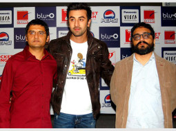 Photo Of Jaideep Sahni,Ranbir Kapoor,Shimit Amin From Press conference of 'Rocket Singh - Salesman Of The Year' in Gurgaon