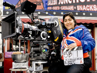 On The Sets Of The Film It's a Wonderful After Life Featuring Shabana Azmi,Shaheen Khan,Goldy Notay,Sally Hawkins,Sendhil Ramamurthy,Sanjeev Bhaskar,Zoe Wanamaker,Jimi Mistri