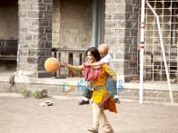 Movie Still From The Film Paa Featuring Amitabh Bachchan,Vidya Balan