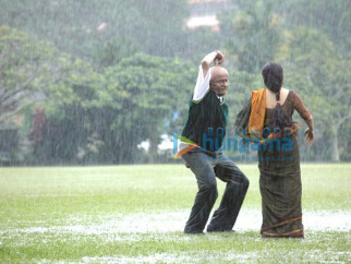 Movie Still From The Film Paa Featuring Amitabh Bachchan,Vidya Balan