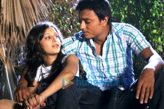 Movie Still From The Film Pyaar Kaa Fundaa Featuring Yugbodh Garewal,Surbhi Shukla