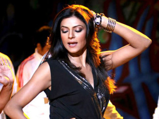 On The Sets Of The Fillim of Do Knot Disturb Featuring,Sushmita Sen