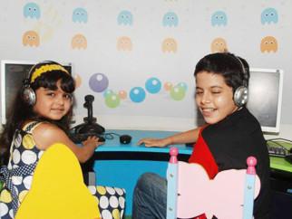Photo Of Ziyah Vastani,Darsheel Safary From The Aftab and Mahima at Roary the racing car launch