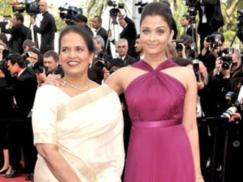 Photo Of Vrinda Rai,Aishwarya Rai From The Aishwarya Rai Bachchan attends the 'Il Gattopardo' premiere held at the Palais des Festivals during the 63rd Annual International Cannes Film Festival