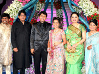 Photo Of Tutu Sharma,Dr. Ninal,Bhavita From The Celebs grace Bhavita Gada's wedding celebration