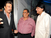 Photo Of Jackie Shroff,Satish Kaushik,Tutu Sharma From The Celebs grace Bhavita Gada's wedding celebration