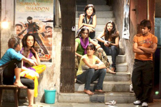 Movie Still From The Film Benny and Babloo,Rukhsar,Natassha,Rajpal Yadav