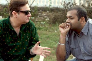 On The Sets Of The Film The Film Emotional Atyachar Featuring Mohit Alawat,Kalki Koechlin,Vinay Pathak,Ranvir Shorey,Abhimanyu Shekhar Singh,Ravi Kissen,Sakshi Gulati,Snehal Dhabi,Anand Tiwari,Shobha Khote,Shiv Kumar Subramaniam,Pankaj Kalra,Nassar Abdull