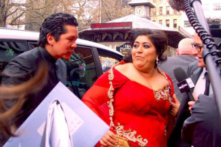 Photo Of Gurindher Chadha From The Premiere of It's a Wonderful After Life in U.K.