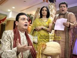 Movie Still From The Film Straight Featuring Vinay Pathak,Ketaki Dave,Rasik Dave