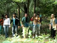 Movie Still From The Film Agyaat Featuring Nitin Reddy,Priyanka Kothari,Rasika Duggal,Kali Prasad Mukherjee,Gautam Rode