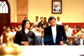 Movie Still From The Film Chal Chalein Featuring Shilpa Shukla,Mithun Chakraborty