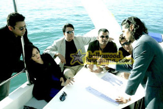 Movie Still From The Film Acid Factory Featuring Irfan Khan,Dia Mirza,Danny Denzong