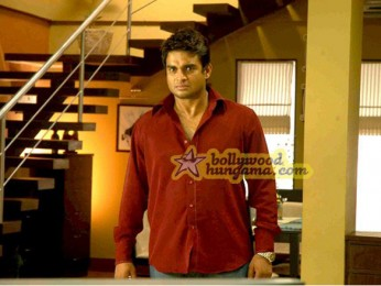 Movie Still From The Film 13B Featuring Madhavan