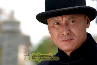 Movie Still From The Film Chni Chowk To China Featuring Gordon Liu