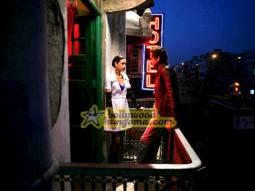 Movie Still From The Film Dev D FeaturingAbhay Deol,Kalki Kocchlin