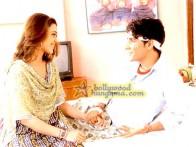 Movie Still From The Film The Hero-Abhimanyu Featuring Hrishita Bhatt,Nikita Rawal