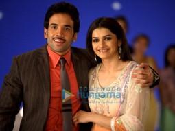 Movie Still From The Film Life Partner Featuring Tusshar Kapoor,Prachi Desai