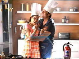 Movie Still From The Film Life Partner Featuring Genelia D'souza,Fardeen Khan