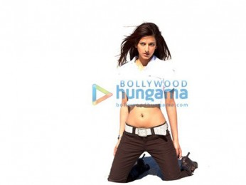 Movie Still From The Film Luck Featuring Shruti K. Haasan