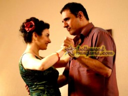 Movie Still From The Film Little Zizou Featuring Boman Irani