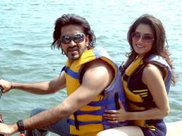 Movie Still From The Film Ek Aadat,Aryeman Ramsay,Smita Gondkar