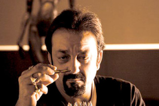 Movie Still From The Film Knock Out,Sanjay Dutt
