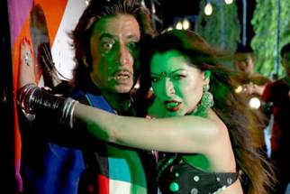 Movie Still From The Film Bachao,Shakti Kapoor