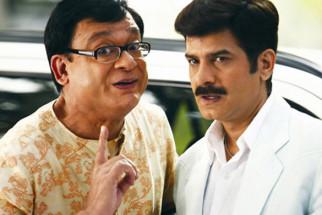 Movie Still From The Film Khichdi - The Movie,Rajeev Mehta,Jamnadas Majethia